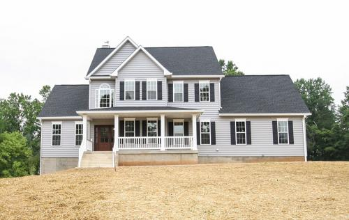 Caliber Home Builder, The Pinehurst, Exterior