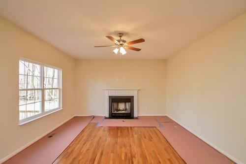 Caliber Home Builder, The Roberson II, Living Area