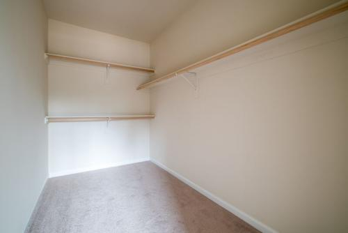 Caliber Home Builder, The Preston, Closet