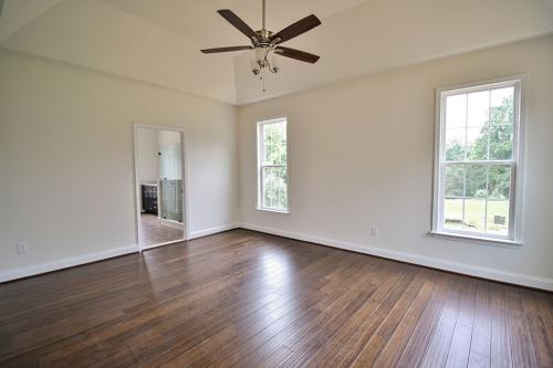 Caliber Home Builder, The Pinehurst, Bedroom
