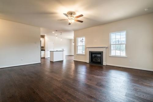 Caliber Home Builder, The Preston, Living Area