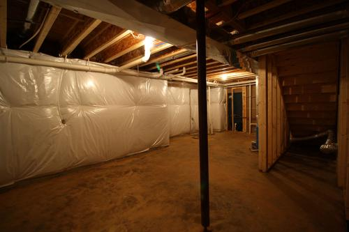 Caliber Home Builder, The Pinehurst, Basement