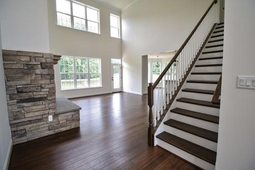 Caliber Home Builder, The Pinehurst, Foyer