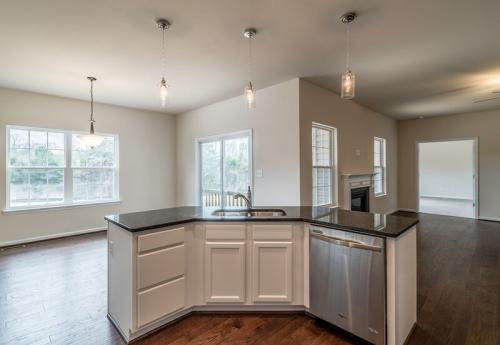 Caliber Home Builder, The Preston, Kitchen