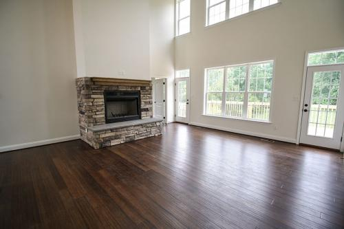 Caliber Home Builder, The Pinehurst, Living Area