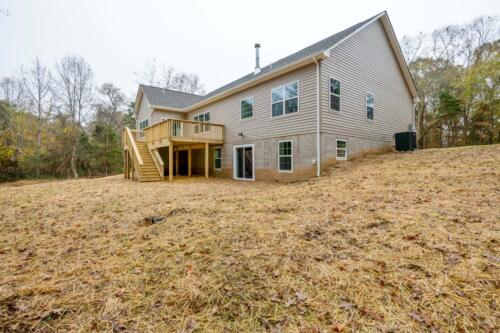 Caliber Homebuilder, Flint Ridge II, ext back