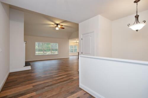 Caliber Homebuilder, Flint Ridge II, great room entrance