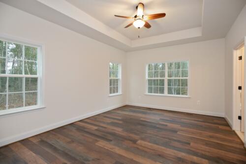 Caliber Homebuilder, Flint Ridge II, owners bedrm