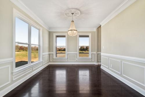 Caliber Home Builder, The Madison, Dining