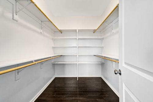 Caliber Home Builder, The Madison, Closet