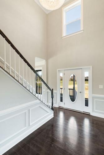 Caliber Home Builder, The Madison, Foyer
