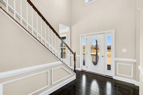 Caliber Home Builder, The Madison, Foyer