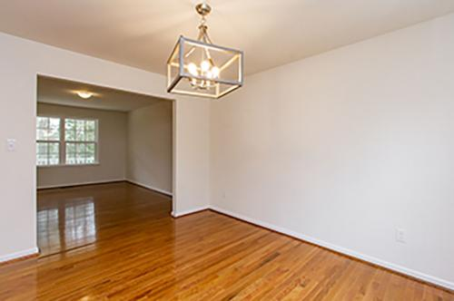 Caliber Home Builder, Mount Airy, Living Area