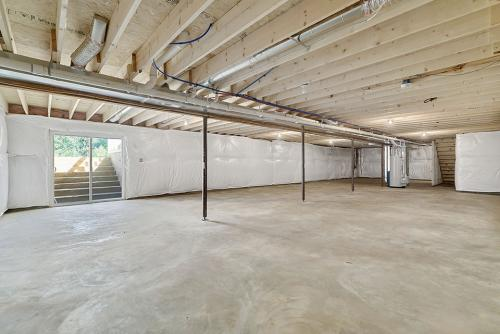 Caliber Home Builder, The Northport 2, Basement
