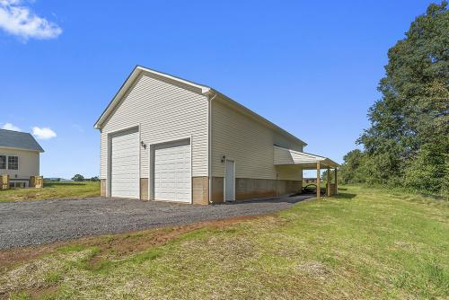 Caliber Home Builder, The Northport 2, Exterior Garage