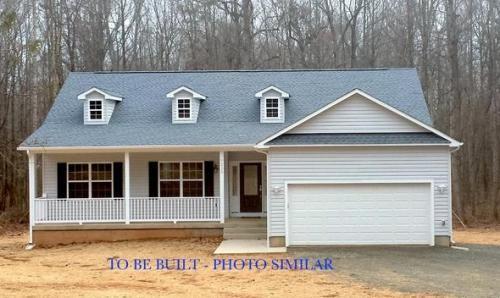 Caliber Home Builder, The Preston, Exterior