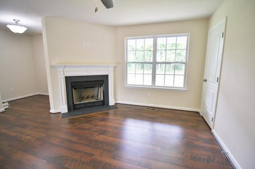 Caliber Home Builder, The Hickory, Living Area
