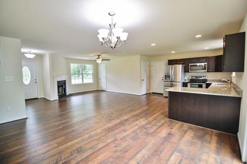 Caliber Home Builder, The Hickory, Living Area