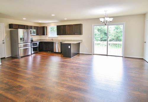 Caliber Home Builder, The Hickory, Kitchen