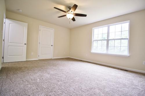 Caliber Home Builder, The Hickory, Bedroom