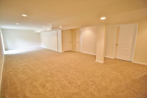 Caliber Home Builder, The Hickory, Basement