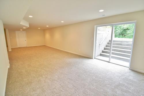 Caliber Home Builder, The Hickory, Basement