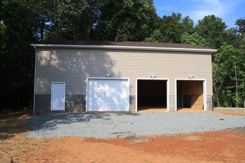 Caliber Home Builder, The Hickory, Garage