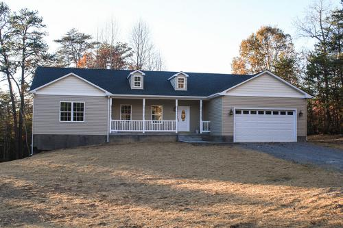 Caliber Home Builder, The Northport, 01, Exterior